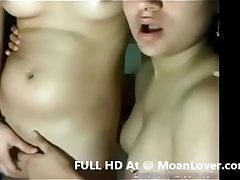 Desi wild girls playing on video call