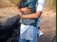 India kissing and sex in garden